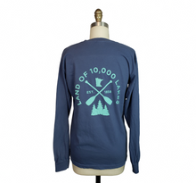 Load image into Gallery viewer, Minnesota Lakes Long Sleeve Shirt