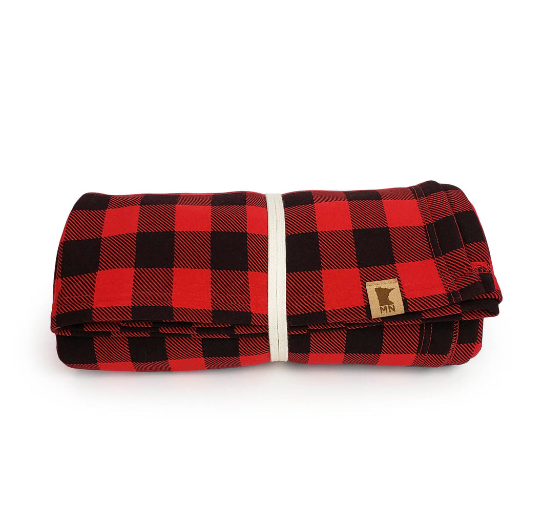 Plaid Minnesota Blanket