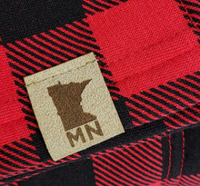 Load image into Gallery viewer, Faux Leather Minnesota Patch