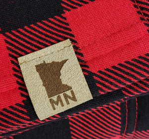 Faux Leather Minnesota Patch
