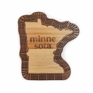Minnesota Cribbage Board