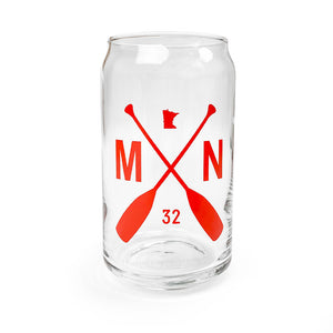 Minnesota Can-shaped Drinking Glass