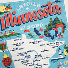 Load image into Gallery viewer, Minnesota Icons Tea Towel