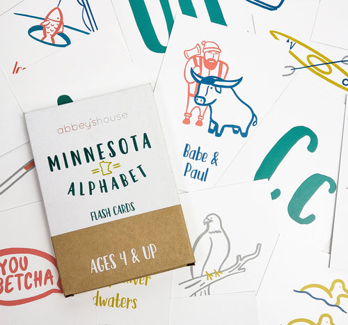 Minnesota Alphabet Flash Cards