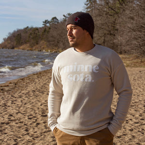 """Minne sota"" sweatshirt, Aspen by 218 Clothing"