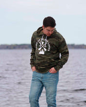 Load image into Gallery viewer, 10k Lakes Camo Hoodie