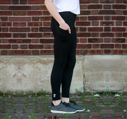 MN Tech Pocket Leggings - Black