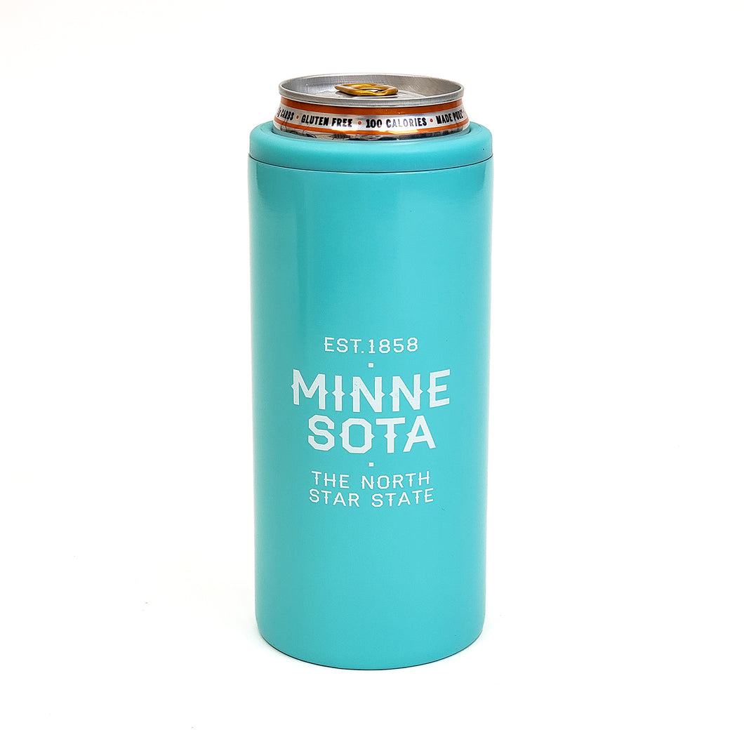 Northern Lights Insulated Slim Can Cooler
