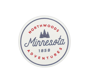 Northwoods Adventures Sticker