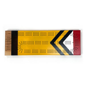 Sanborn Dalles Des Morts Cribbage Board