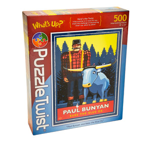 Paul Bunyan and Babe the Blue Ox Puzzle