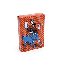 Load image into Gallery viewer, paul bunyan and babe playing cards