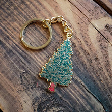 Load image into Gallery viewer, Pine Tree Keychain