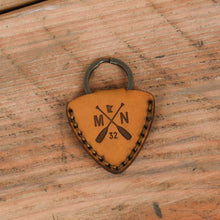 Load image into Gallery viewer, Alder Guitar Pick Key Chain