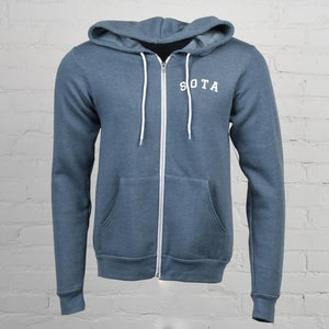 Lost River Unisex Zip-Up Hoodie