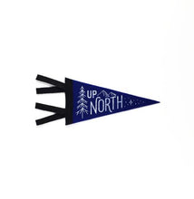 Load image into Gallery viewer, Up North Mini Pennant Banner