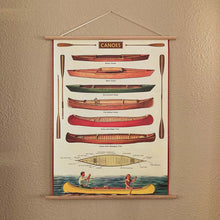 Load image into Gallery viewer, Canoes Poster