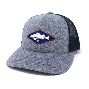 Walleye MN Snapback Hat - Navy
