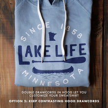 Load image into Gallery viewer, Lake Life Hoodie - Blue