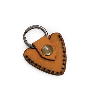 Alder Guitar Pick Key Chain