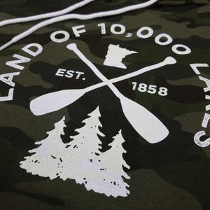 Land of 10,000 lakes Paddle shirt