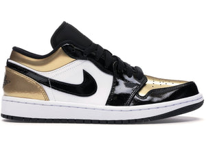 "Air Jordan Retro 1 Low ""Gold Toe""-LacedUp"