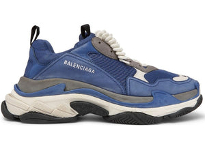 "Balenciaga Triple S ""Cool Blue Grey""-LacedUp"