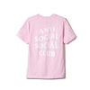 "Anti Social Social Club ""Logo Tee Two Pink"""