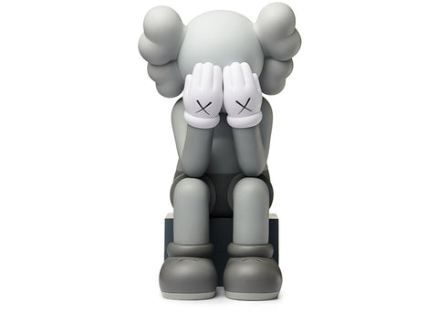 Kaws Passing Through Open Edition Vinyl Figure Grey