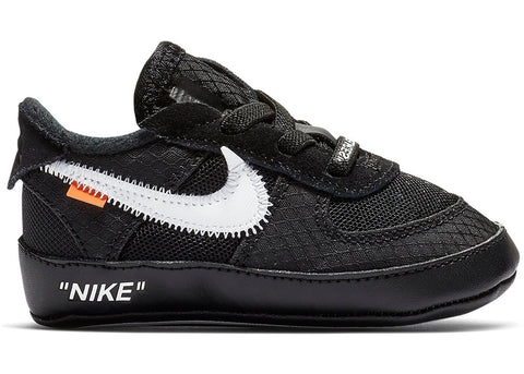 "Nike Air Force 1 x Off White ""Black"" TD"