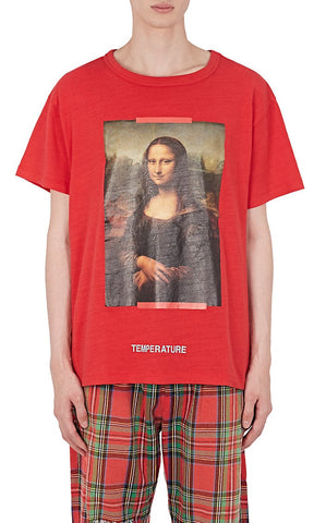 Off-White x Mona Lisa Tee (Red)