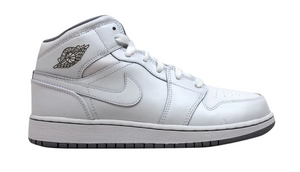 "Air Jordan Retro 1 Mid ""White"" GS"