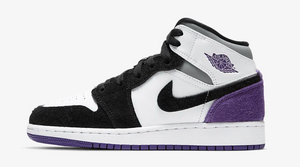 "Air Jordan Retro 1 Mid ""Purple SE"" (GS)"