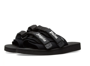 Moncler x Palm Angels x Suicoke MOTO Slides (Black)
