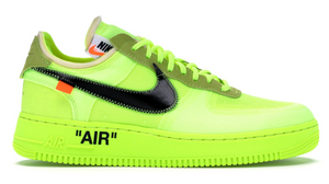 "Nike Air Force 1 Low x Off White ""Volt"""