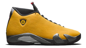 "Air Jordan Retro 14 ""Ferrari University Gold"""