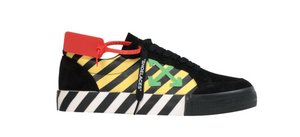 Off-White Vulc Low (Black Yellow Green)