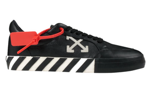 "Off White"" Vulc Low"" (Black Leather)"