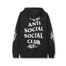 "Anti Social Social Club ""Sunny Side"" Hoodie Black-LacedUp"