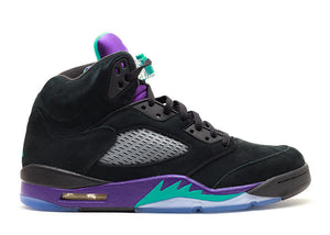 "Nike Air Jordan Retro 5 ""Black Grape""-LacedUp"