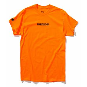 "Anti Social Social Club x Undefeated ""Paranoid"" Tee (Orange)-LacedUp"