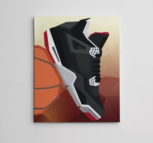 Canvas Art (Bred 4) 16in x 20in