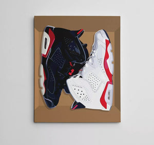 Canvas Art (Infrared 6 Pack) 16in x 20in