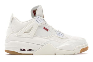 "Air Jordan Retro 4 ""Levi's"" White"