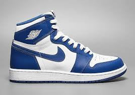 "Air Jordan Retro 1 ""Storm Blue"""