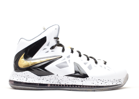 "Nike Lebron X P.S. Elite ""White/Gold"""