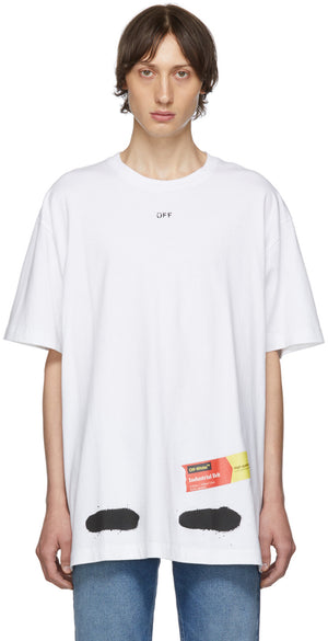 "Off White ""Spray Paint"" Tee"