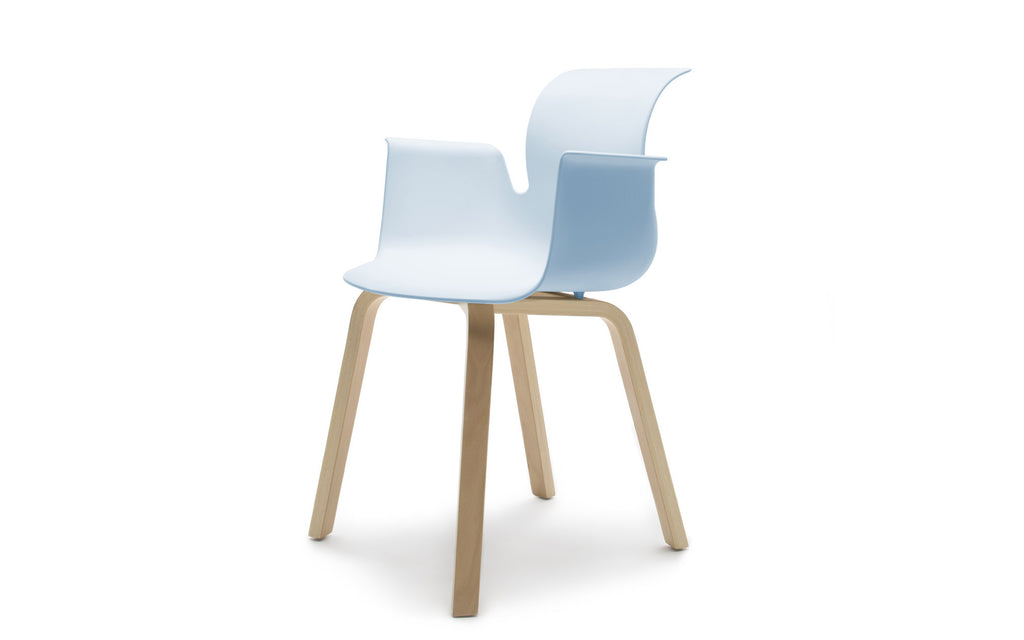 Pro armchair wooden base