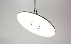 Button pendant light