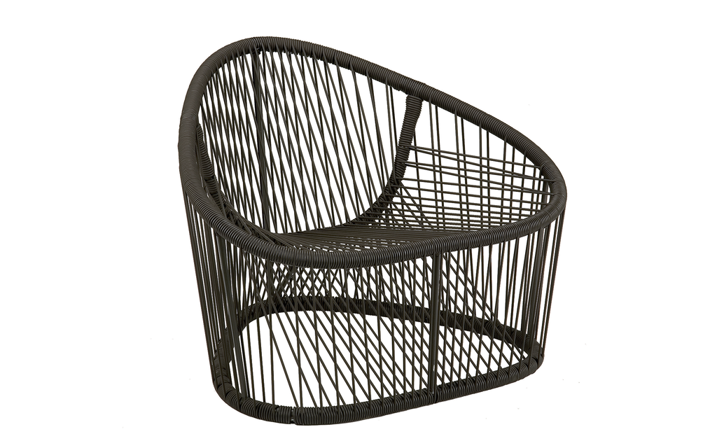 Club outdoor armchair
